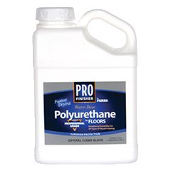 Get durable protection and a crystal-clear finish with Rust-Oleum® Pro Finisher Water-Base Polyurethane. This non-yellowing, non-flammable formula maintains the natural color of wood and provides great abrasion resistance, even in high-traffic areas.