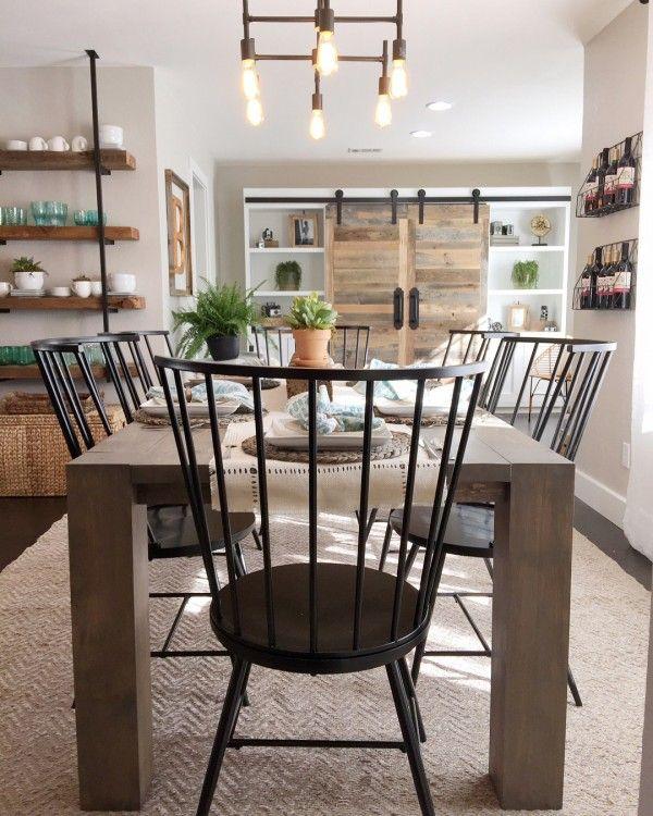 Diy Farmhouse Decor 300 Easy Craft Ideas Rustic Dining Room