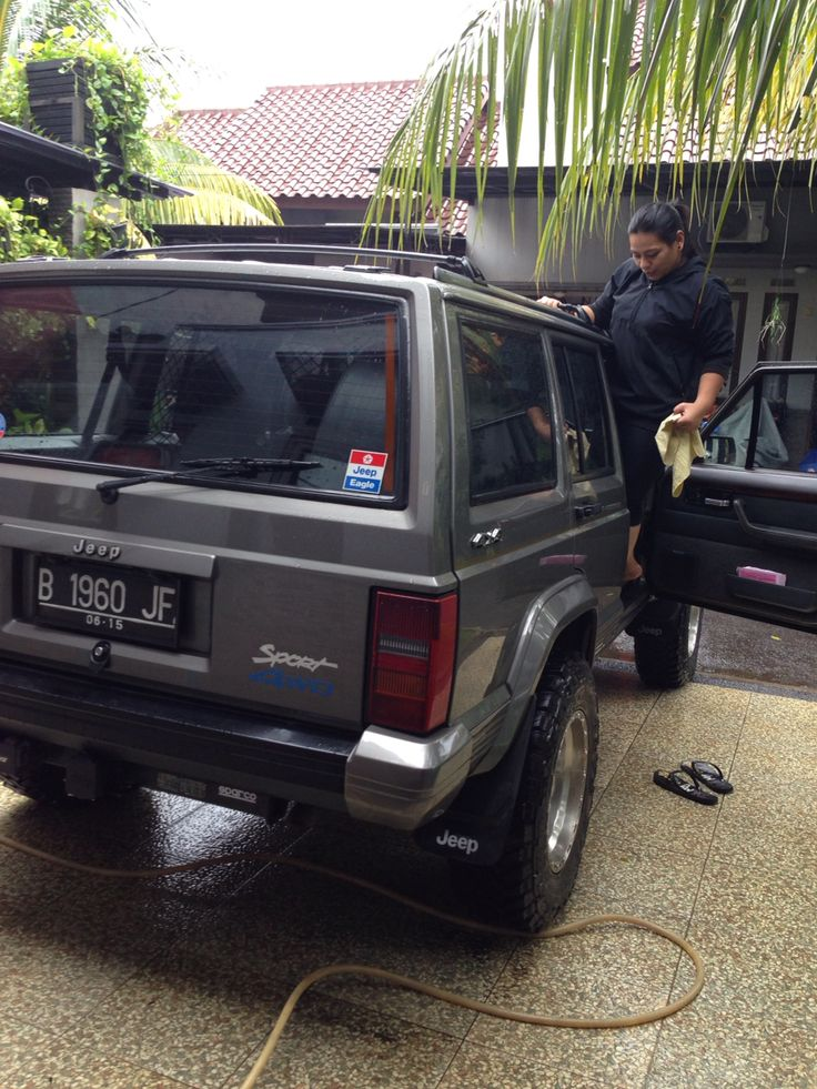 cuci jeep