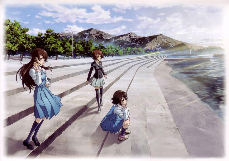 Noe, Ai, and Hiromi    True Tears