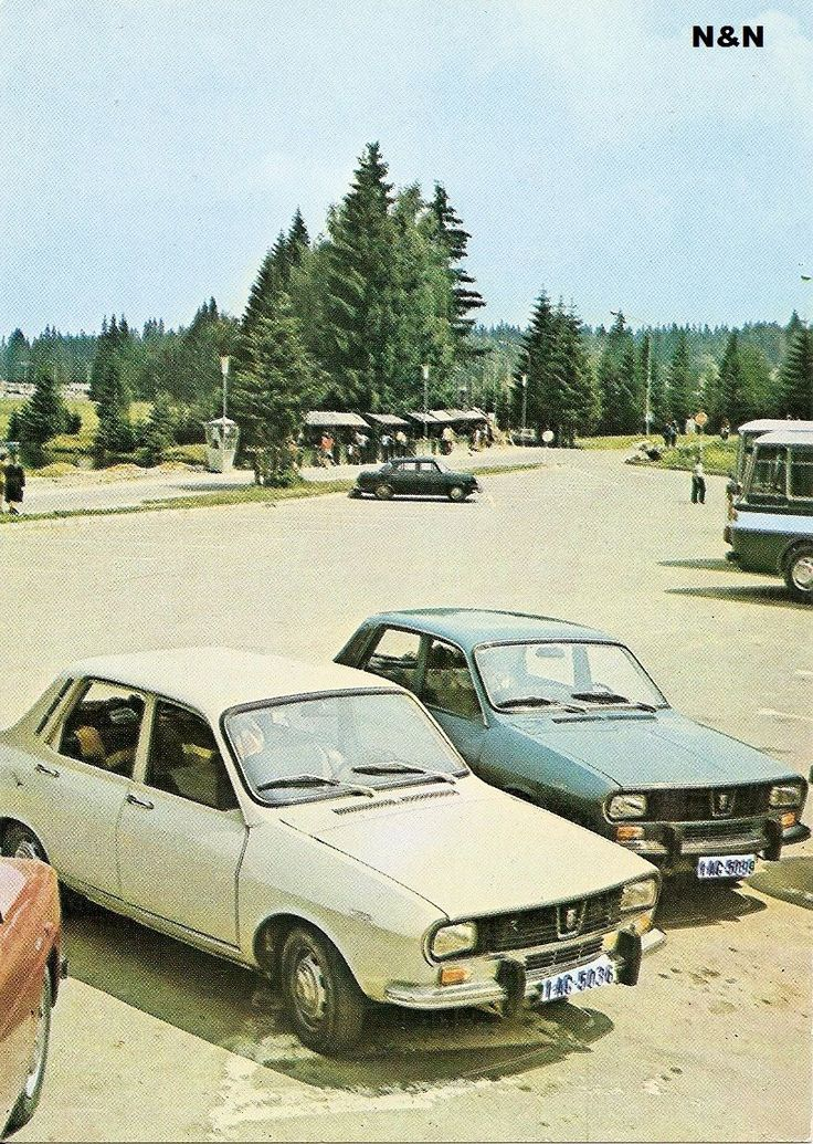Poiana Brasov, parcare, anii '70.