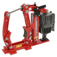 Ideally suited for today's AC cranes, the AC thruster of the EBA Series provides smooth, reliable stopping power for a wide variety of applications; Class F steel mill cranes to everyday light duty workshop cranes.