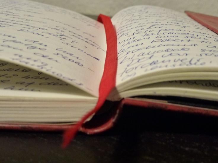 Min notesbog. Her skriver jeg ideer til nye #bøger ned når jeg er på rejse. #Forfatter @lene_dybdahl