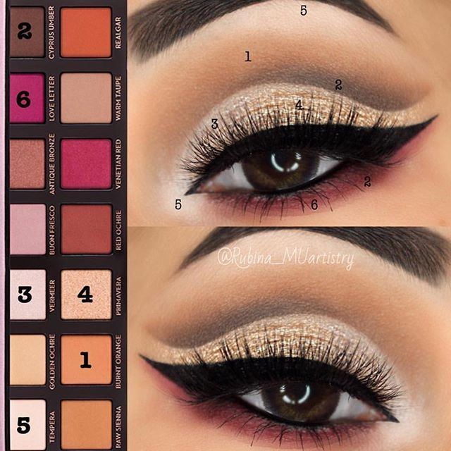 Beautiful by  @rubina_muartistry  Using the Modern Renaissance palette  #anastasiabeverlyhills #modernrenaissance