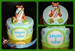 Тортик с мишкой