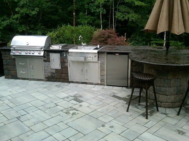 17 best images about outdoor living by stone creations of for Ready made outdoor kitchen