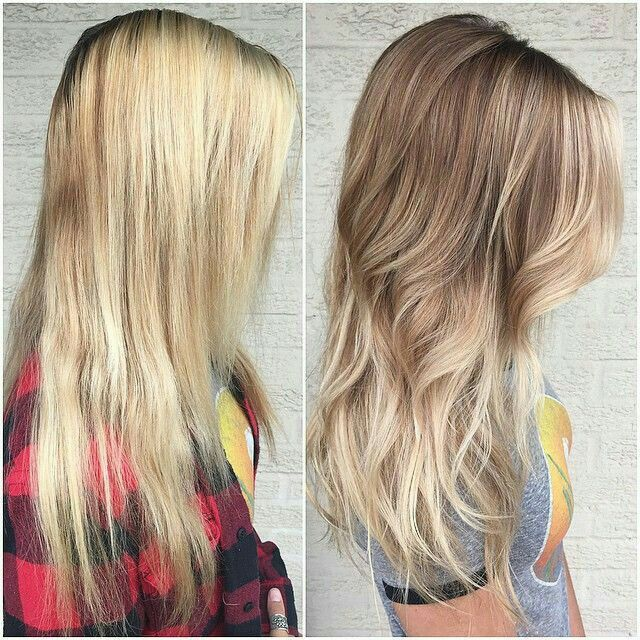 ombre / biolage / the right kind of highlights / natural look