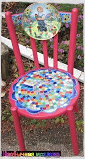НЕОБЫЧНАЯ МОЗАИКА: Украшаем сад мозаикой