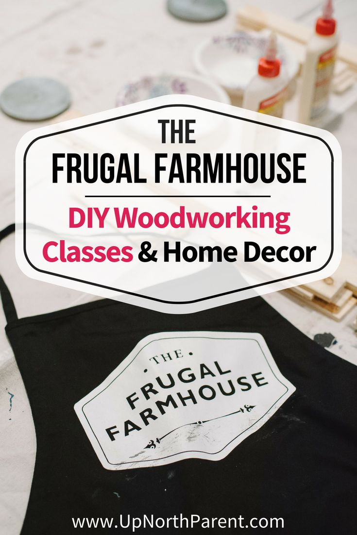 The Frugal Farmhouse of Pillager, MN is know for beautiful rustic farmhouse handmade signs and home decor, as well as DIY woodworking classes and workshops. #woodworking #diy #diyhomedecor #diyclasses