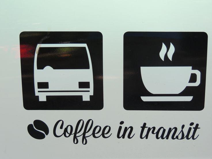 Coffee in transit