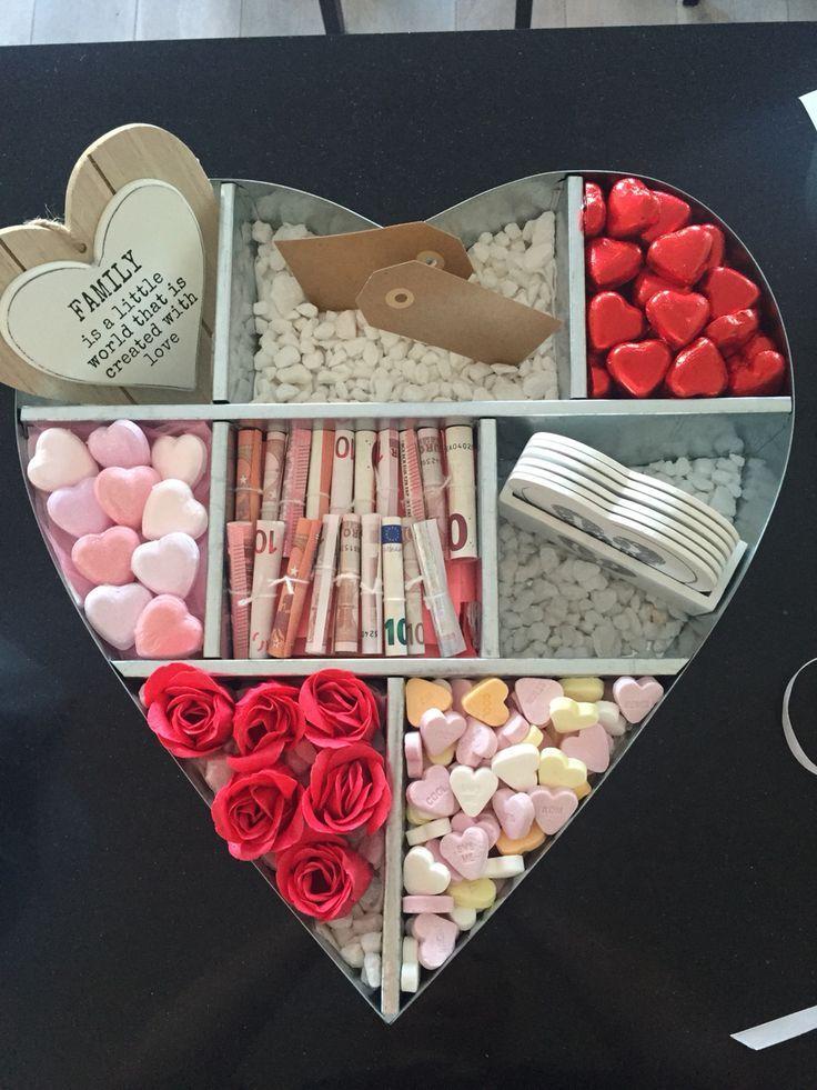 Eine Geschenk-Kiste voller Liebe! ♥️ tolle DIY Idee um Liebe zu verschenken