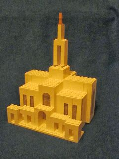 LEGO set for sale to build an LDS temple! Great gift for Christmas.  Instructions on Blog