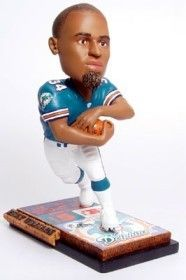 Miami Dolphins Ricky Williams Ticket Base Forever Collectibles Bobblehead Z157-8132914352
