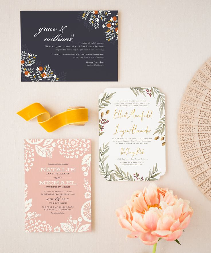 5 Wedding Invitation Trends That Will Dominate in 2017