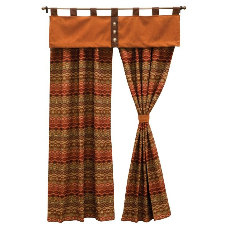 Wooded River Marquise IV Curtain and Valance Set - WOOR312