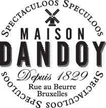 Maison Dandoy - Speculoos. Nice branding, Speculoos video Rue au Beurre, Brussels