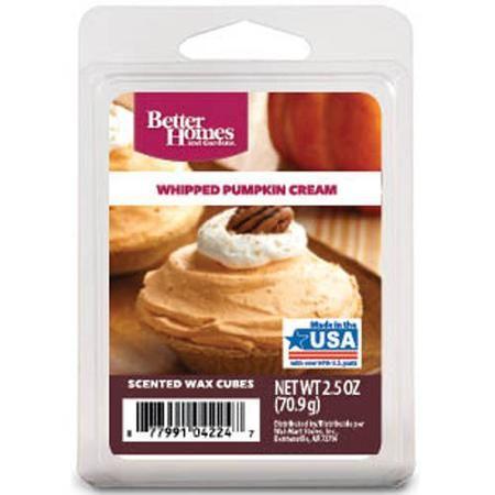Better Homes And Gardens Wax Cubes Whipped Pumpkin Cream