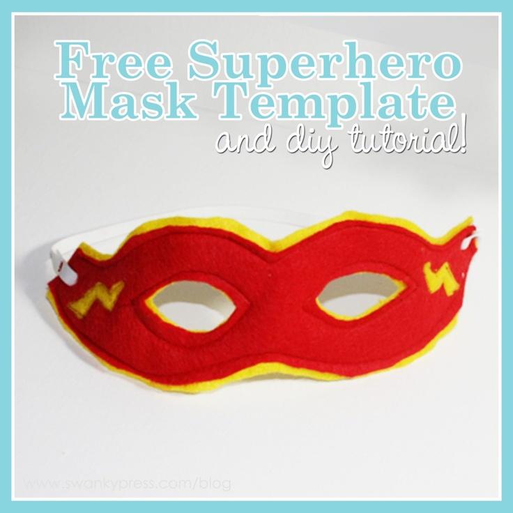 free supermask template: Super Heroes Masks, Gifts Ideas, Diy'S, Super Heros, Diy Tutorials, Homemade Gifts, Masks Tutorials, Diy Superhero Masks Templates, Super Hero Masks