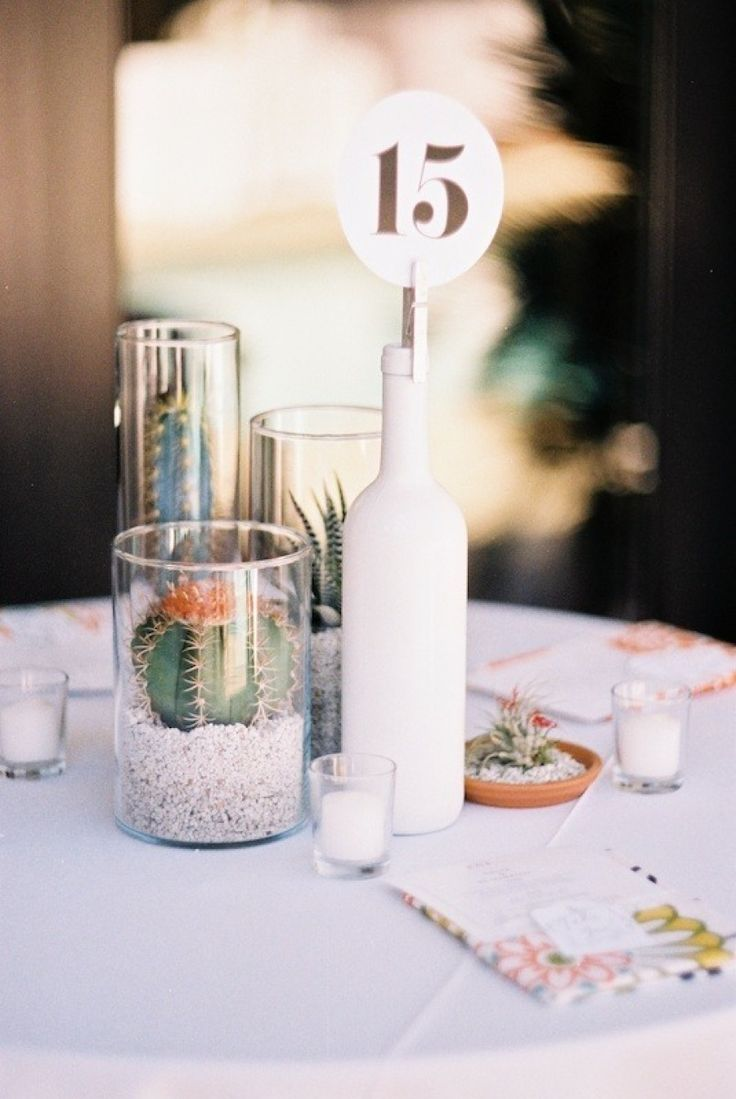 Bottle Table Numbers. This could easily be converted over for a Beach Wedding by…