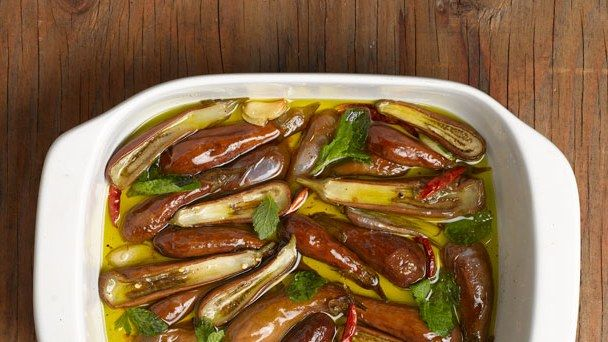 Preserve Eggplants by Slow-Roasting Them in Olive Oil | Bon Appetit