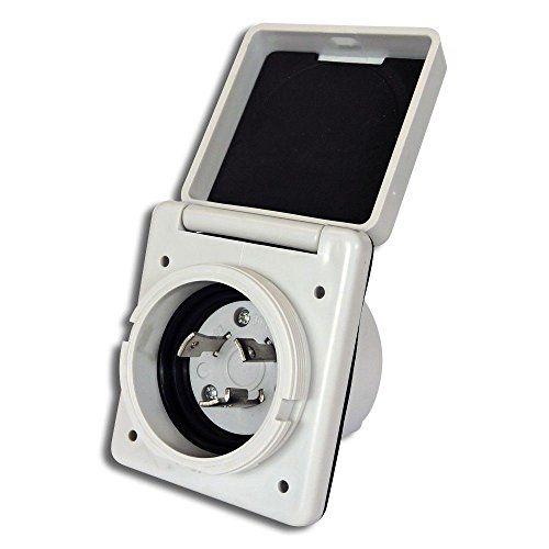 Rv Cord 125v 30 Amp Power Plug Twist Lock Inlet With 3 St Weatherproof Boots Travel Trailer Floor Plans Leisure Rv