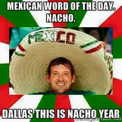 Dallas Cowboys humor, Tony Romo