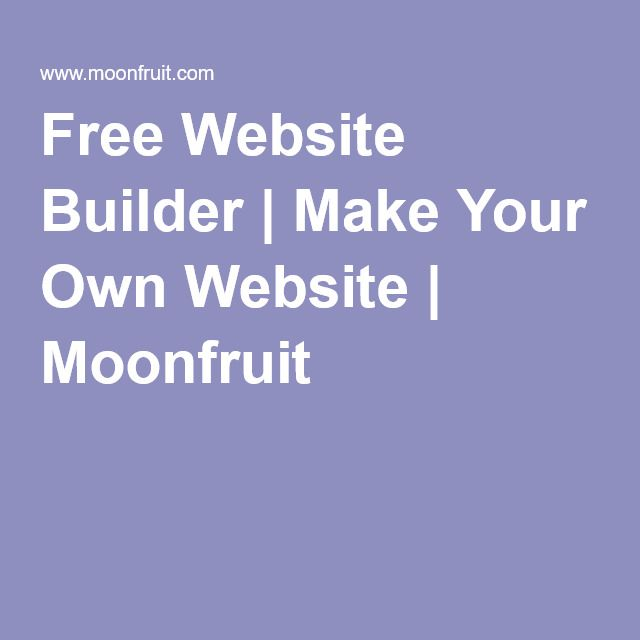 17 Best Website Building Made Easy Images On Pinterest