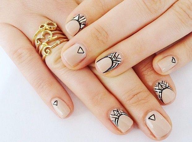 Γεωμετρικά νύχια, η τάση στο μανικιούρ - Νύχια | Ladylike.gr