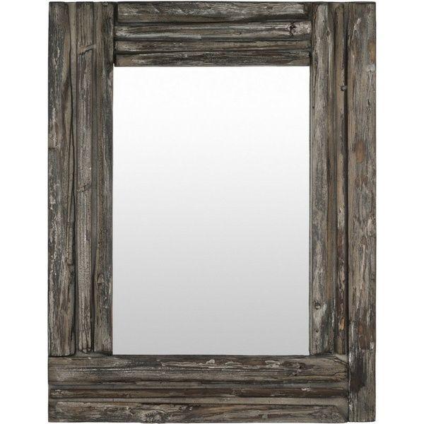 Ronnie Wood Framed Medium Size Rectangular Wall Mirror