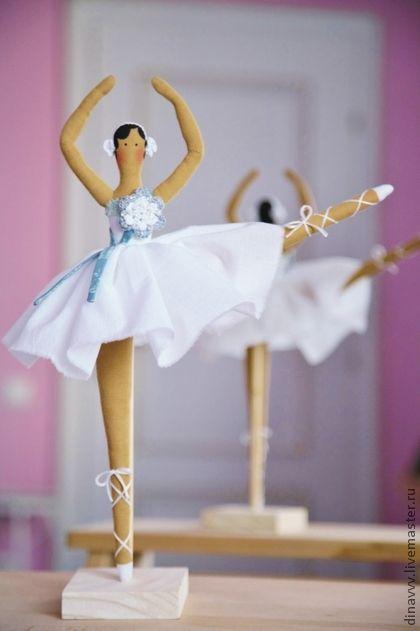 Куклы Тильды ручной работы. Ярмарка Мастеров - ручная работа Тильда Балеринка. Handmade.