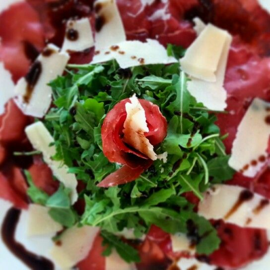# bresaola #rugula and #parmesan #italianfood #myfood #italianstyle