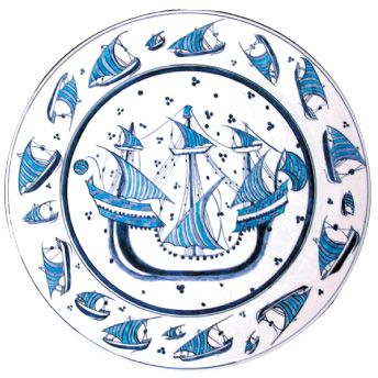 Round Plate-Iznik Foundation