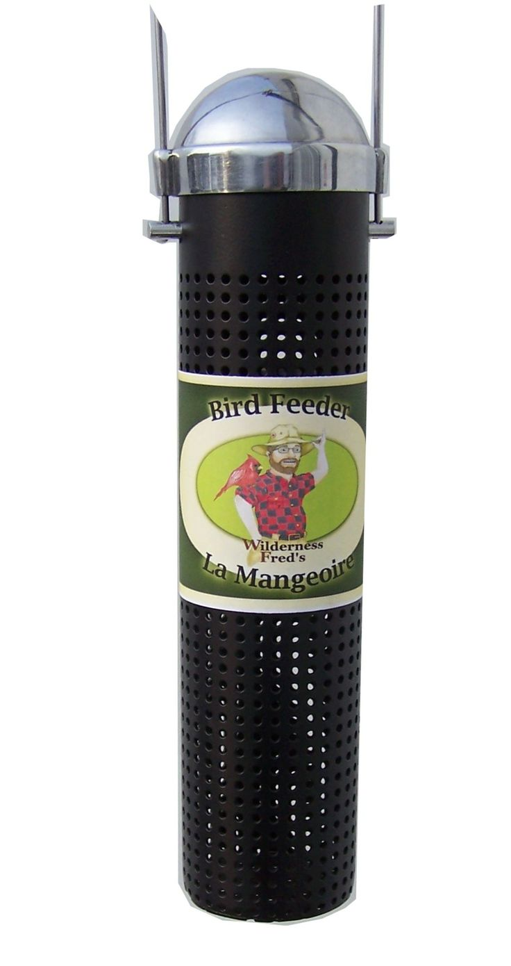 "FF10 WF 10"" Metal Finch Feeder black 10"" Metal Finch Feeder. Black coated. Has stainless steel handle for hanging, and lid."