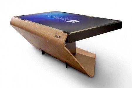Table basse tactile la Table Kineti