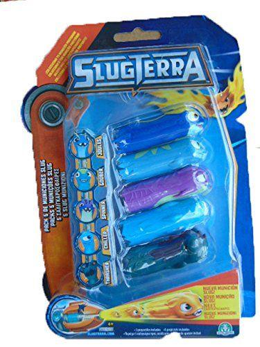 Slugterra blister 5 slugs 83433: Amazon.fr: Jeux et Jouets ...