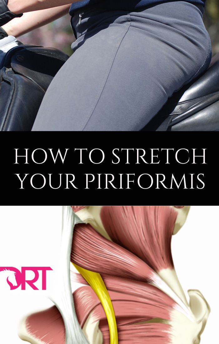 How to stretch your piriformis and why dressage riders should