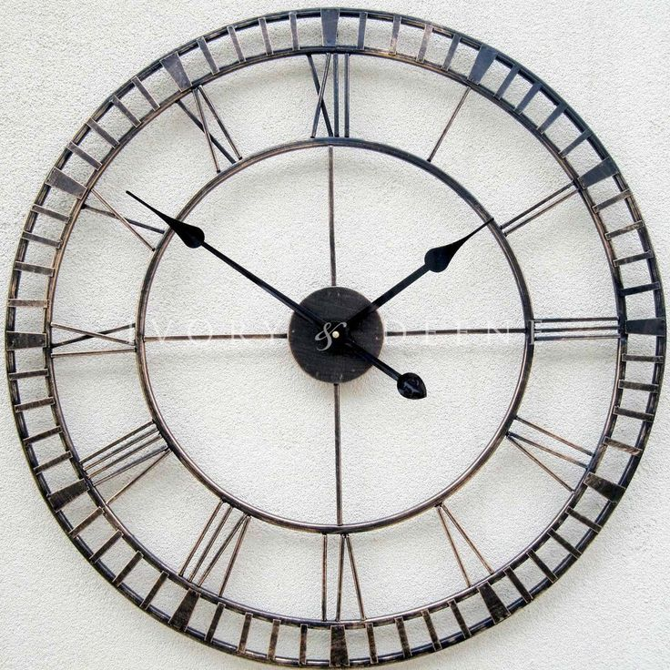 32 best outdoor clocks images on pinterest outdoor clock for Whatever clock diy