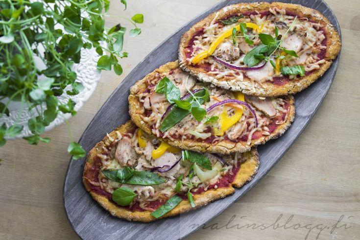Glutenfri pizzadeg med sötpotatis | Naturligt glutenfritt