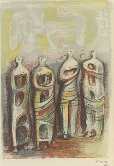 Sketches Henry Moore