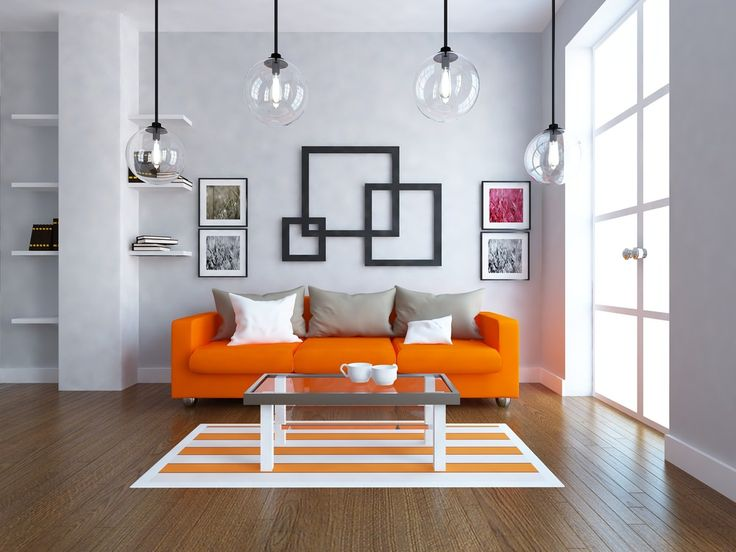 24 orange living room ideas and designs - Orange Living Room Design