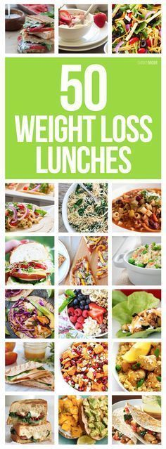 50 amazing lunch recipes that will help you lose weight! Meal prep these low-cal, low-fat weight loss lunches and hit your weight loss goals all week long. Weight Watcher points included! Womanista.com