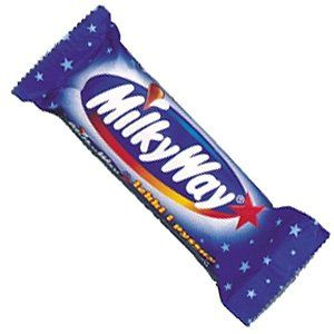 milky way bar Single = 6 sins