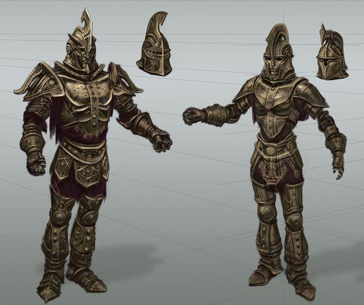 Skyrim · Dwemer Armor by adam adamowicz