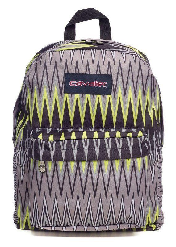 Mochila escolar Cavalier estampada monster - Enluaze Loja Virtual | Bolsas, mochilas e pastas