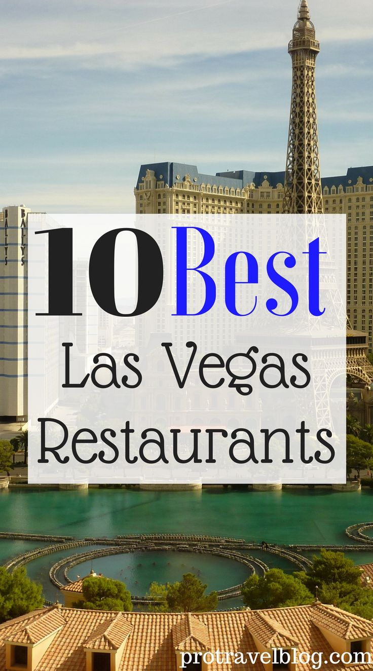 Here's the 10 best places to eat in Las Vegas. These Las Vegas Restaurants have the best foods to eat for what you pay for. Low and high cost restaurants are listed here. Check them out!