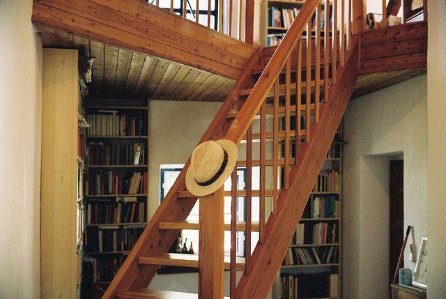 staircase teak simple