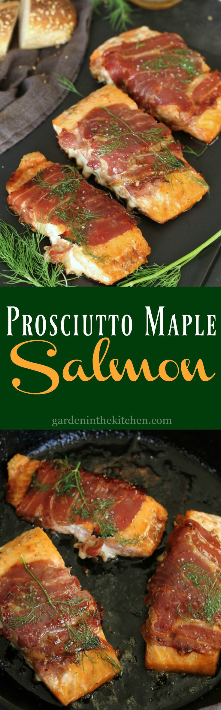 Prosciutto Maple Salmon