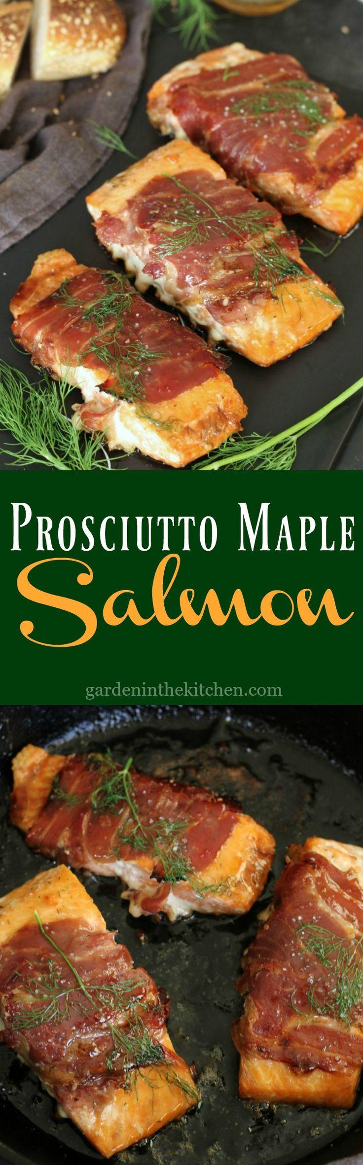 Prosciutto Maple Salmon
