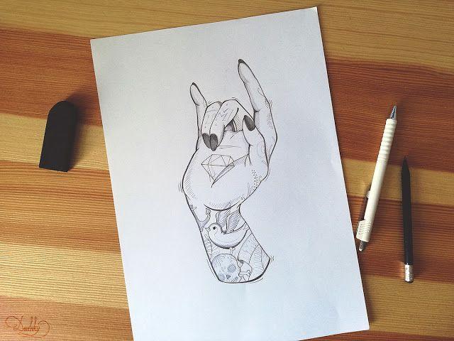 design by #dushky | #art #illustration #design #tattoo #hand #logo #tmc #rock #mother #skull #typography #lettering