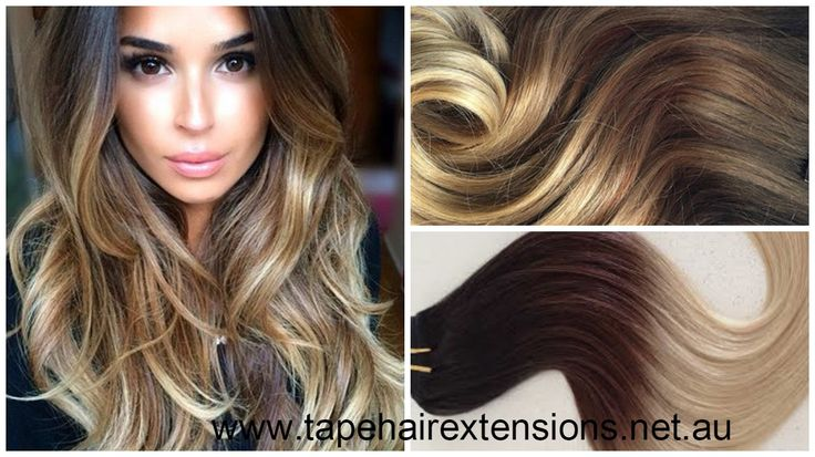 #Black to Brown Ombre Hair Extensions. We supply the worlds best quality and longest Lasting 100% Pure Virgin Remy Tape Hair Extensions, clip in hair extensions, micro-bead hair extensions, weft / weaves, flip-in / halos ponytails and keratin bond hair extensions on the Market. #besthairextensions #russiantapehairextensions #tapehairextensions #virgintapehairextensions #hairextensions